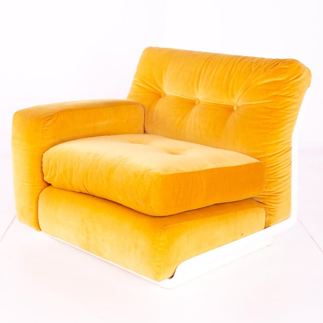 Jack Cartwright for Founders Mid Century Sectional Fiberglass Sofa For Sale - Image 12 of 13