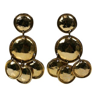 Edouard Rambaud Runway Earrings, Paris For Sale