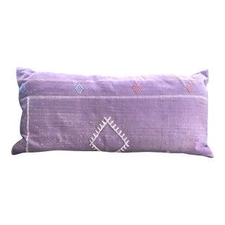 Antique Lavender Moroccan Lumbar Pillow