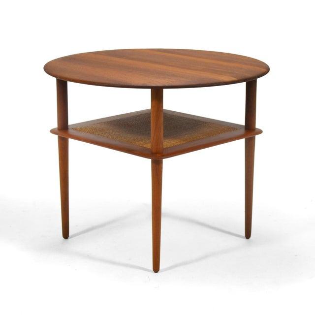 1950s Peter Hvidt/ Mølgaard-Nielsen Fd 522 Occational Table For Sale - Image 5 of 10