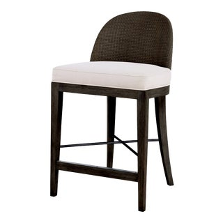 Century Furniture Tybee Counter Stool, Mink Grey For Sale