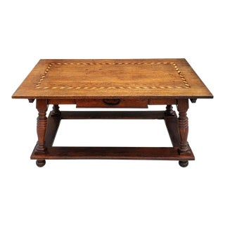 17th/18th Century French Oak Farmhouse Table For Sale