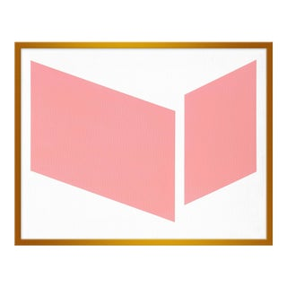 "Medium ""Pink Disjointed"" Print by Jason Trotter, 30"" X 24"" For Sale"