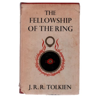 "1962 ""The Fellowship of the Ring, First Edition"" Collectible Book For Sale"