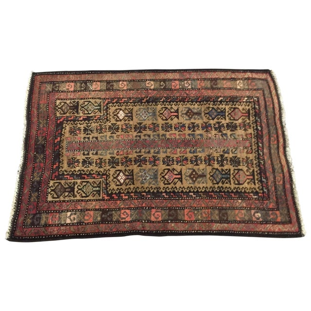 Traditional Baluchi Persian Rug - 2'6 x 3'6'' - Image 1 of 7