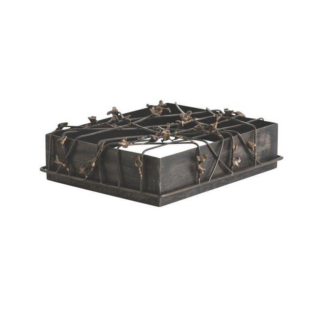 Butterfly Metal Iron Box - Image 1 of 3