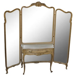 Vintage 1920s French Louis XV Style Vanity