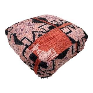 Moroccan Square Pouf Cover For Sale