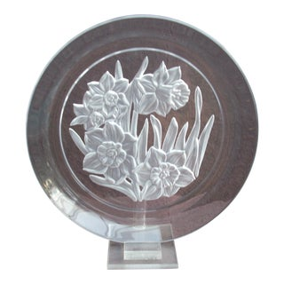 Crystal Plate For Sale