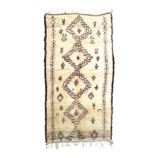 Vintage Moroccan Marmoucha Rug - 6′ × 10′2″ For Sale