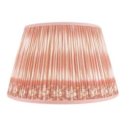 "Ikat Printed Lamp Shade 16"", Coral For Sale"