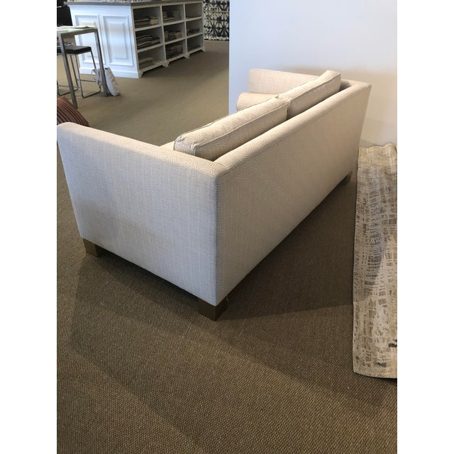 White Scalamandre Upholstered Sofa For Sale In New York - Image 6 of 11