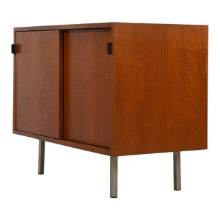 Early Florence Knoll Low & Compact Office Credenza / Storage Cabinet