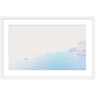 "Medium ""Capri From Above"" Print by Natalie Obradovich, 30"" X 20"" For Sale"