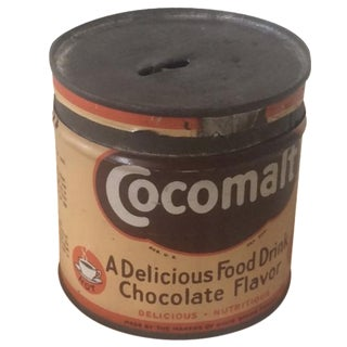 1920s Cocomalt Malt Drink Tin For Sale