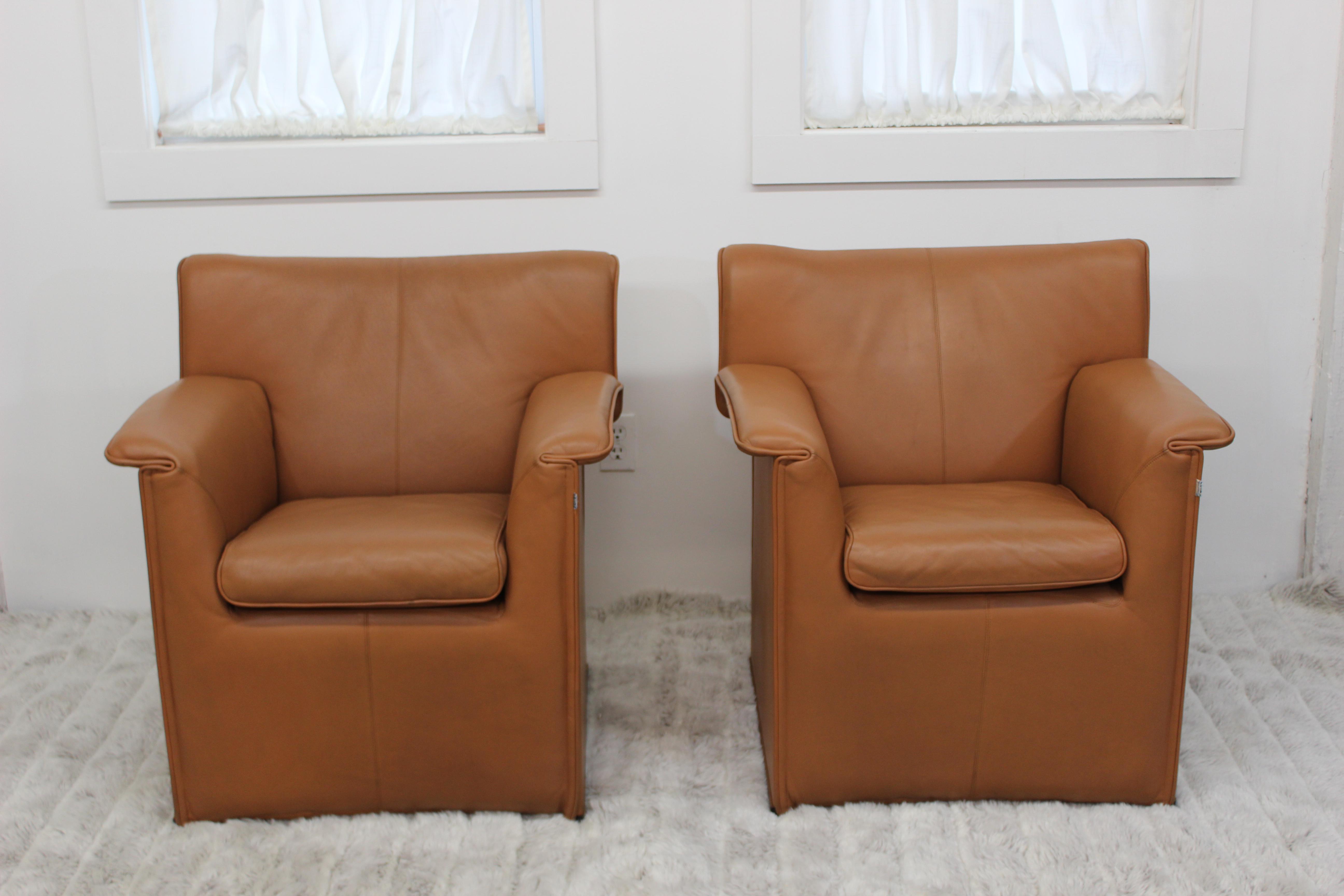 Afra U0026 Tobia Scarpa For Bu0026B Italia Mid Century Lauriana Chairs   A Pair