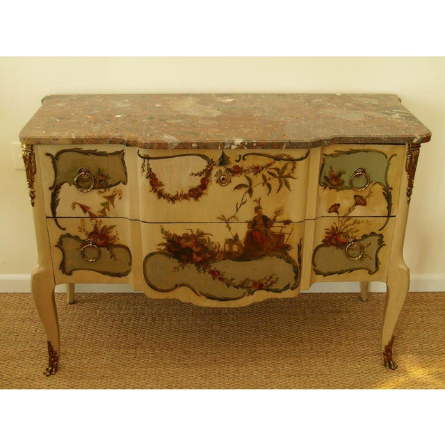 French Provincial Early 20th Century French Commode For Sale - Image 3 of 6