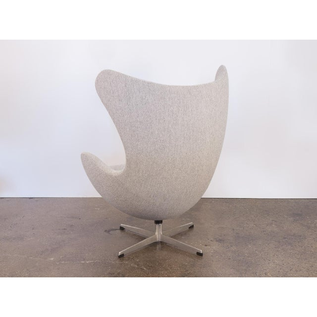 Arne Jacobsen Egg Chair and Ottoman - Image 6 of 11
