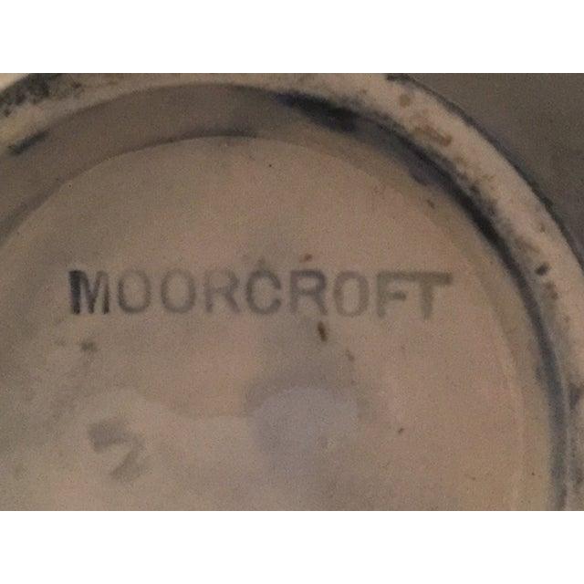 Traditional Moorcroft Cobalt Floral Vase For Sale - Image 3 of 5