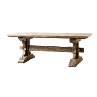 18th Century Trestle Table For Sale
