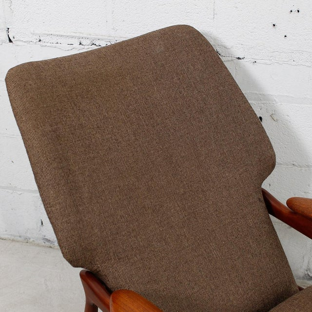 Finn Juhl Reclining Wingback Chair For Sale In Washington DC - Image 6 of 10