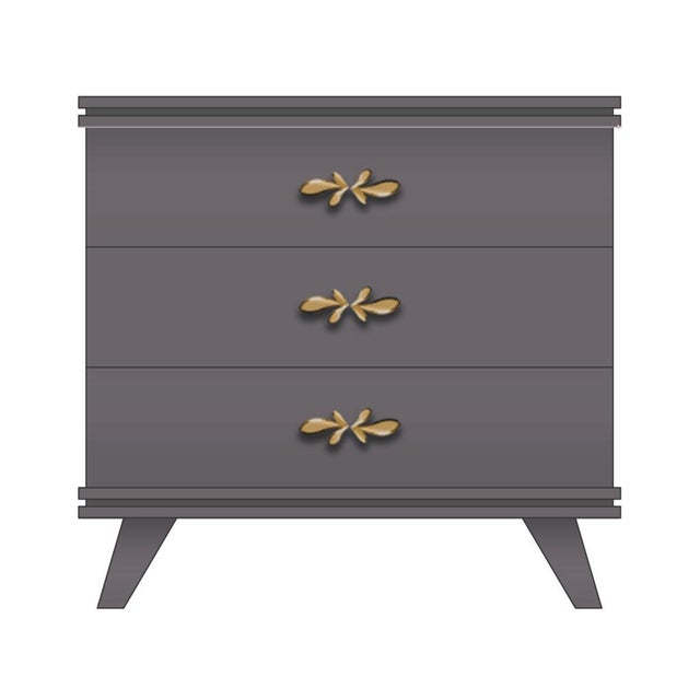 Contemporary Rochelle Dresser Small For Sale - Image 3 of 3