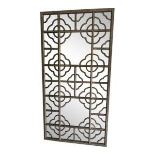 Decorative Antiqued Wood Framed Mirror
