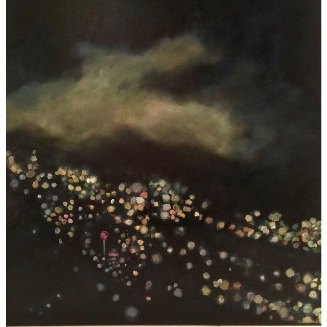 "Bryan Boomershine ""La Lights"" Oil Painting - Image 1 of 4"