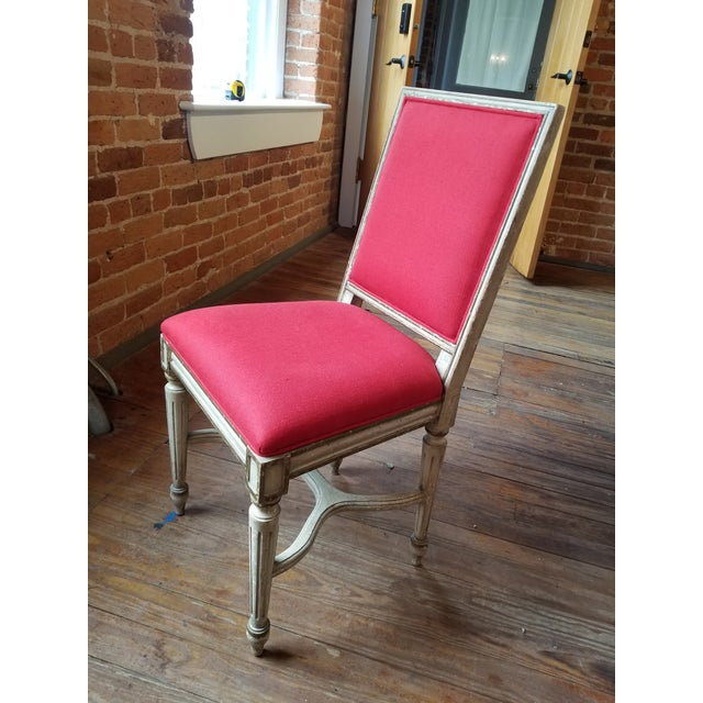 1980s French Provincial Side Chair For Sale In Raleigh - Image 6 of 8
