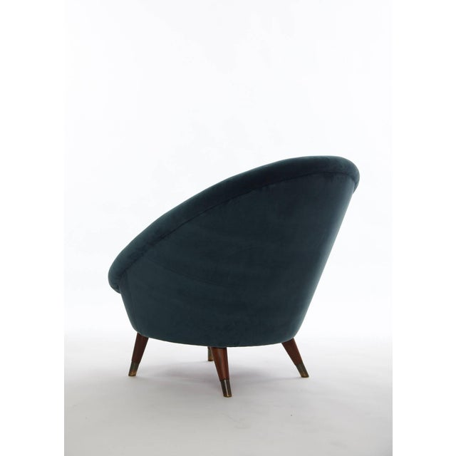 Rare 1950s Norwegian Egg Chair For Sale - Image 4 of 5