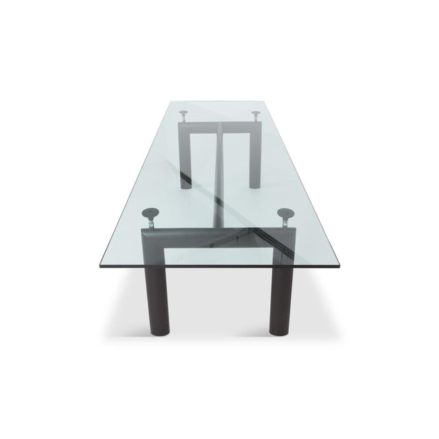 Le Corbursier Lc6 Dining Table for Cassina For Sale - Image 9 of 13