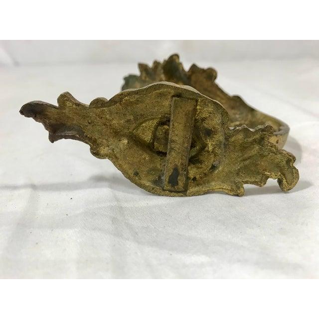 Metal Napoleon III Bronze Dorè Drapery Tie-Backs a Pair For Sale - Image 7 of 12