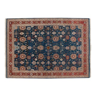"Vintage Indian Sultanabad Design Carpet - 10' X 13'8"" For Sale"