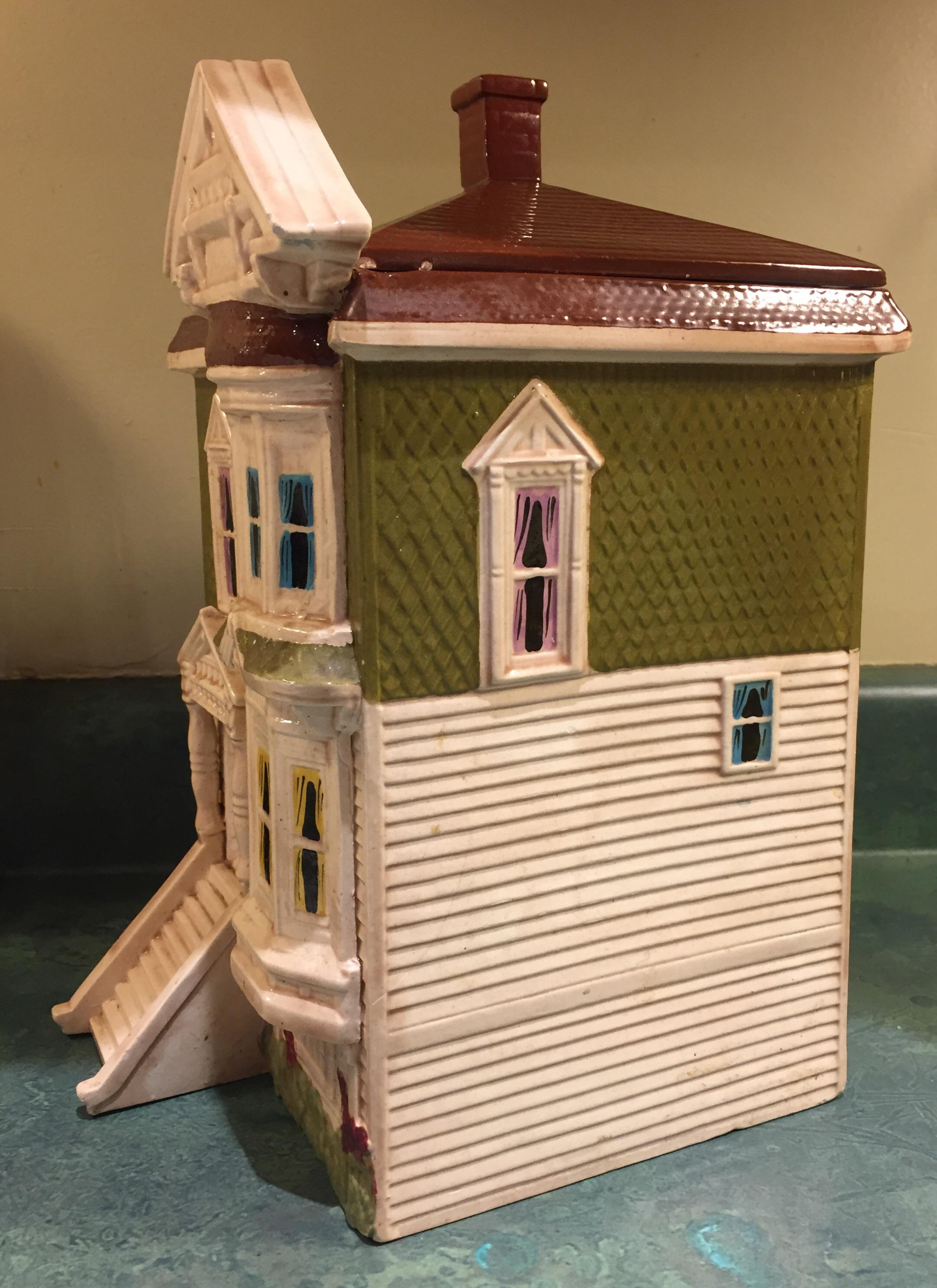 San Francisco Victorian Home Cookie Jar   Image 4 Of 11