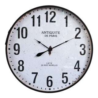 Large Paris Wall Clock