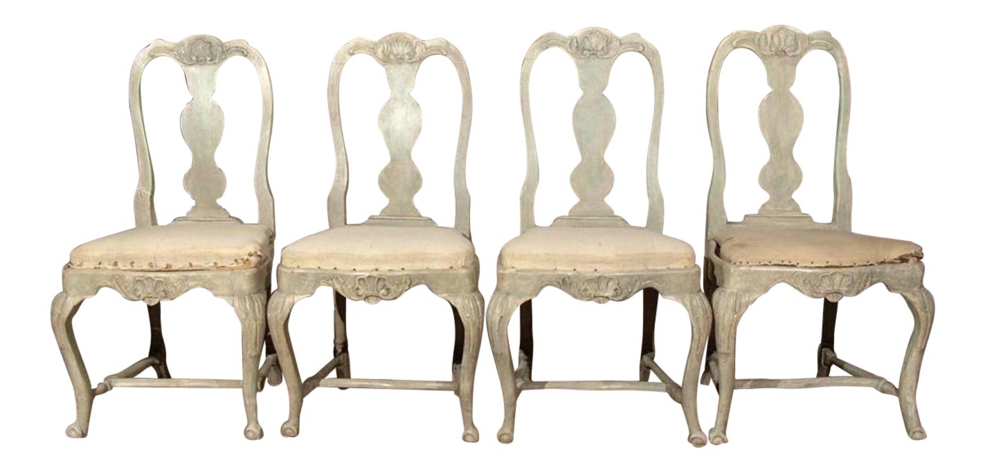 swedish style dining chairs bellman swedish rococo dining chairs for sale antique designer decaso