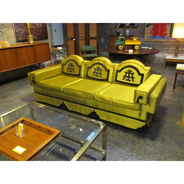 1950s Chinoiserie-Style Sofa - Image 3 of 6