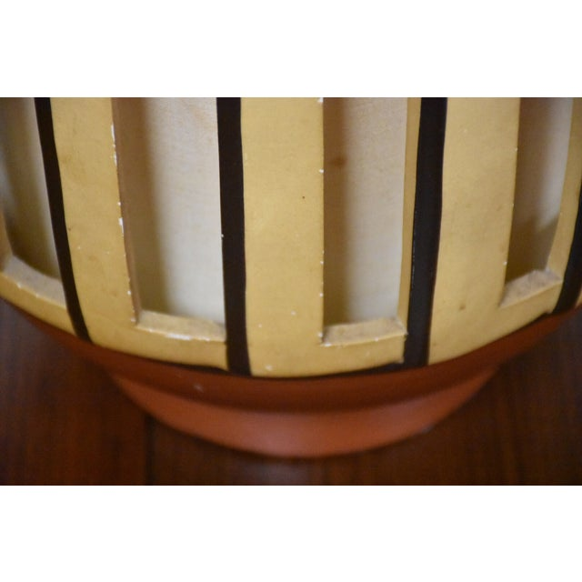 Mid Century Pottery Table Lamp - Image 7 of 9