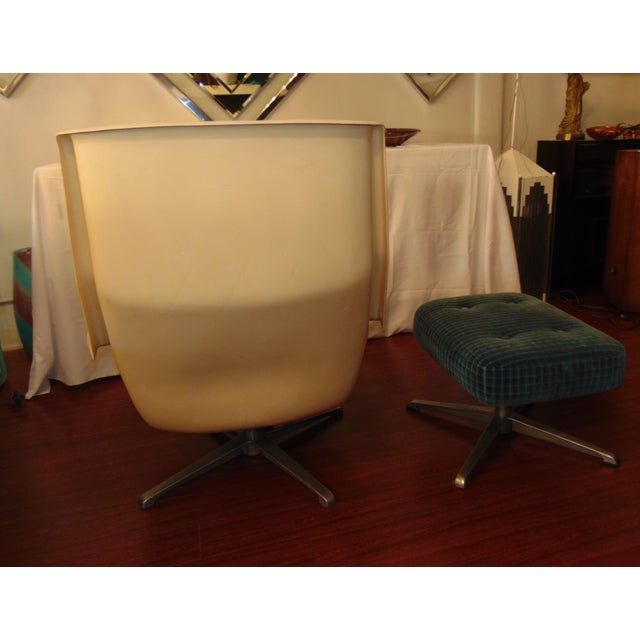 Molded Chair & Ottoman - Image 11 of 11