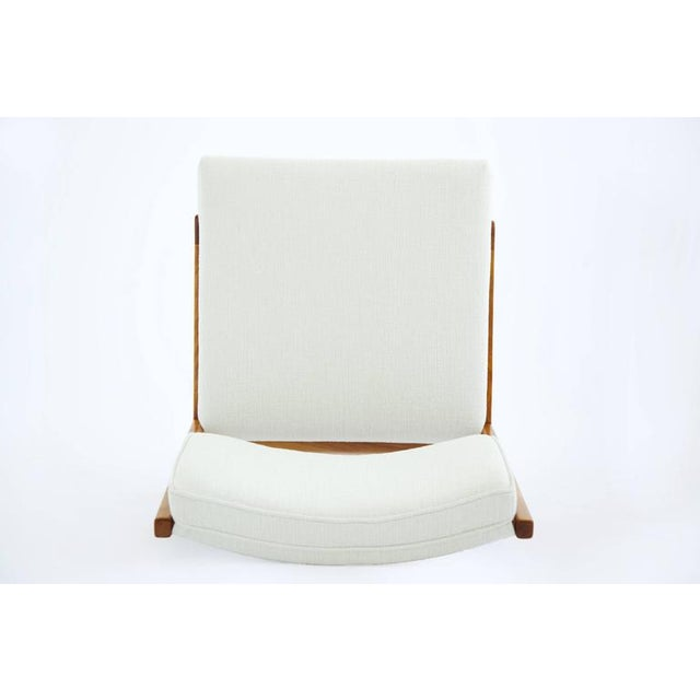 Risom Armless Lounge Chair For Sale - Image 5 of 10