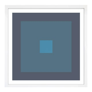 """Color Study #20"" Unframed Geometric Print For Sale"