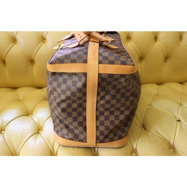 1990s Special Edition Louis Vuitton Travel Bag, Damier Canvas For Sale - Image 5 of 12