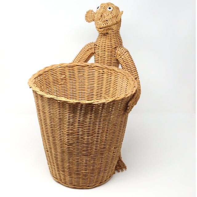 Mario Lopez Torres Monkey Waste Basket or Trash Can For Sale - Image 9 of 9