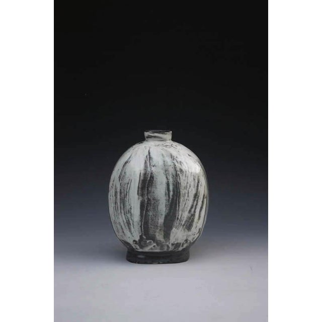 Contemporary Kang Hyo Lee, Puncheong Flat Bottle 6, 2012 For Sale - Image 3 of 3