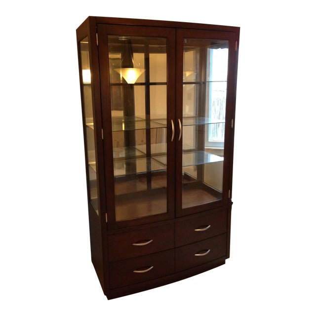Kathy Ireland Bay Heights Curio Cabinet
