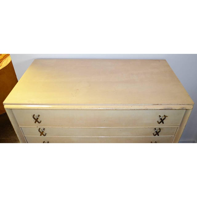 1950s Mid-Century Modern Paul Frankl for Johnson Furniture Co. Gentleman's Chest For Sale - Image 10 of 11