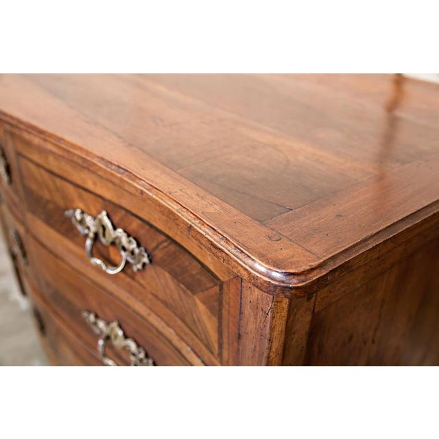 18th Century French Louis XVI Period Parquetry Commode For Sale - Image 4 of 11
