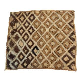 African Kuba Kasai Velvet Raffia Textile Zaire