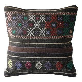 Handmade Wool Kilim Pillowcase For Sale