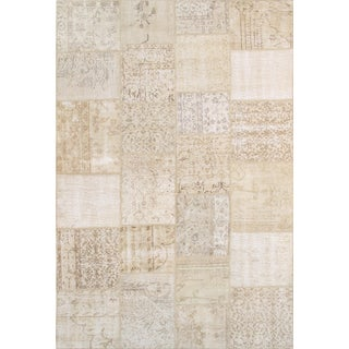 Pasargad Patchwork Collection Rug- 6′ × 9′1″ For Sale